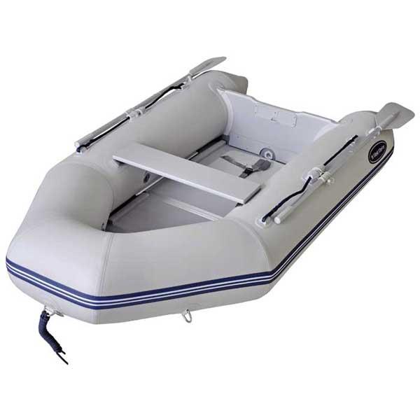 Amalia's new PSB275 hard floor dinghy.